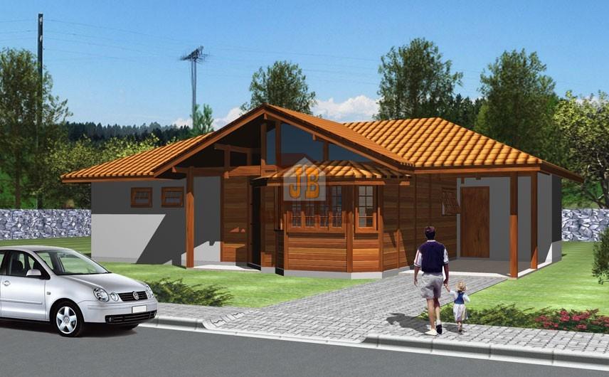 Projeto 1 - Pré Casas - 97,85 m²