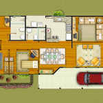 Projeto Londrina-PR - 145,23 m²