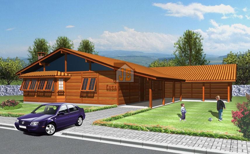Projeto Belo Horizonte-MG - Casas Pré - 262,13 m²