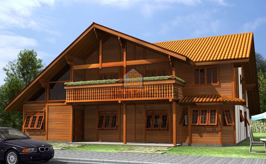 Projeto 9 - Pré Casas - 344,40 m²