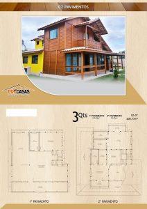 Casa de Madeira - Araçatuba-SP - 200,77 m²