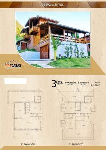 Casa de Madeira - Presidente Prudente-SP - 243,77 m²
