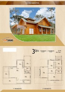Casa de Madeira – Ourinhos-SP - 252,75 m²