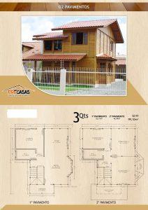 Casa de Madeira - Campos-RJ - 99,10 m²