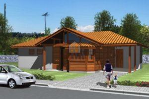 Projeto Prado - BA – 97,85 m² – Casas Pré