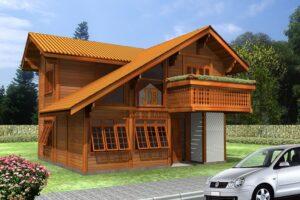 Casa de Madeira - Feira de Santana-BA